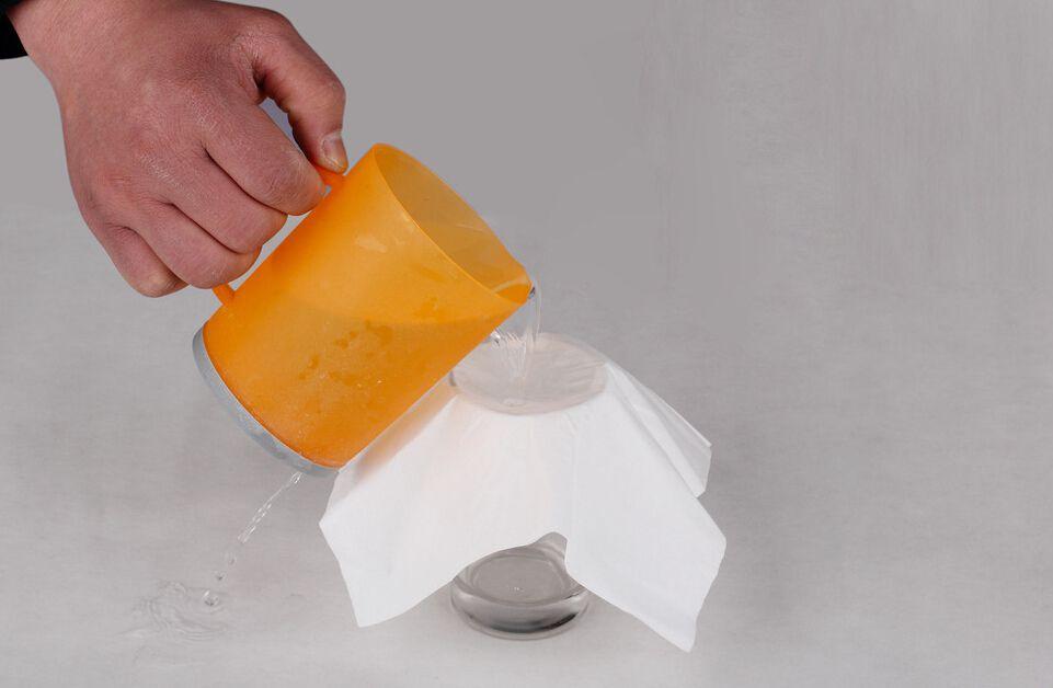 鉴别餐巾纸真伪的常用检测办法