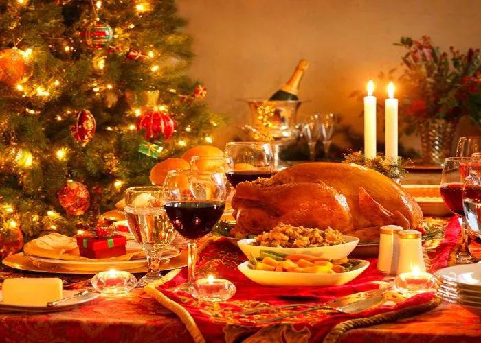 世界各国在圣诞节的时候都吃什么?